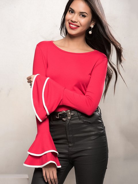 Блуза червона Cool&Sexy 3828507