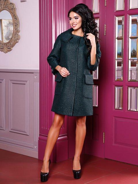 Пальто зелене Favoritti 3830971