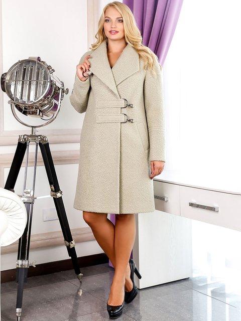 Пальто оливкового кольору Favoritti 3830991