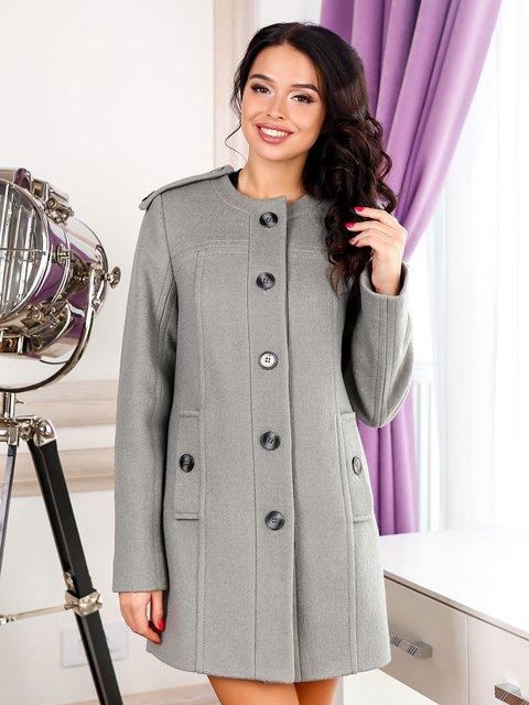Пальто оливкового цвета Favoritti 3830992