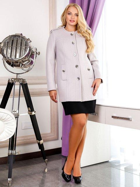 Пальто світло-сіре Favoritti 3831011