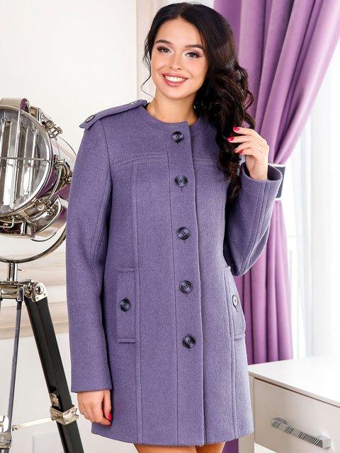 Пальто темно-сіре Favoritti 3831044