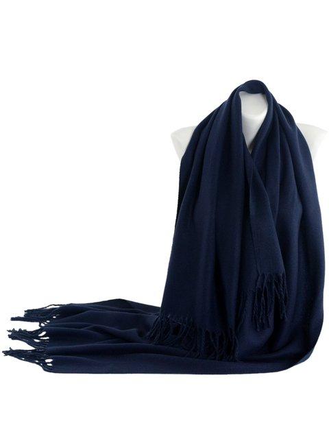 Шарф темно-синий Traum 3832789