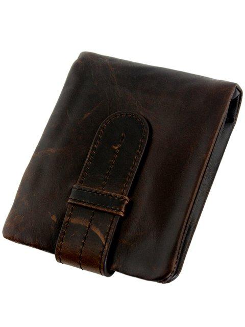 Бумажник коричневый Traum 3832797