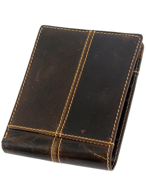 Бумажник коричневый Traum 3832798
