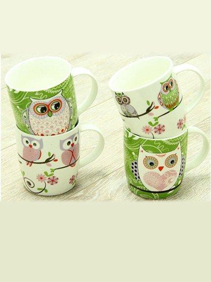 Чашка «Сова на гілці» Веселі подарунки 3833554