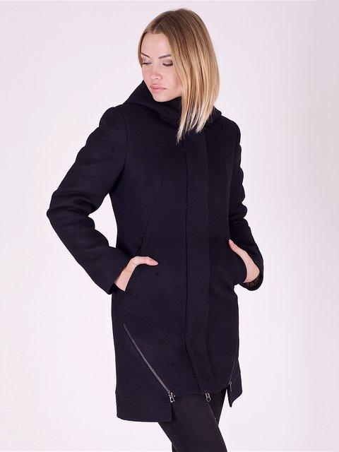 Пальто черное Mila Nova 2618066