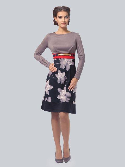 Платье в цветочный принт AGATA WEBERS 3834955