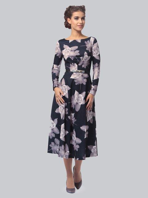 Платье в цветочный принт LILA KASS 3840404