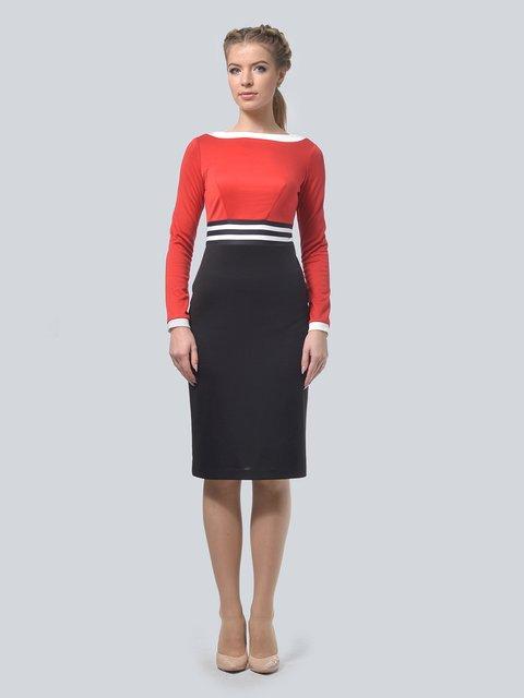 Платье красное-черное AGATA WEBERS 3834931