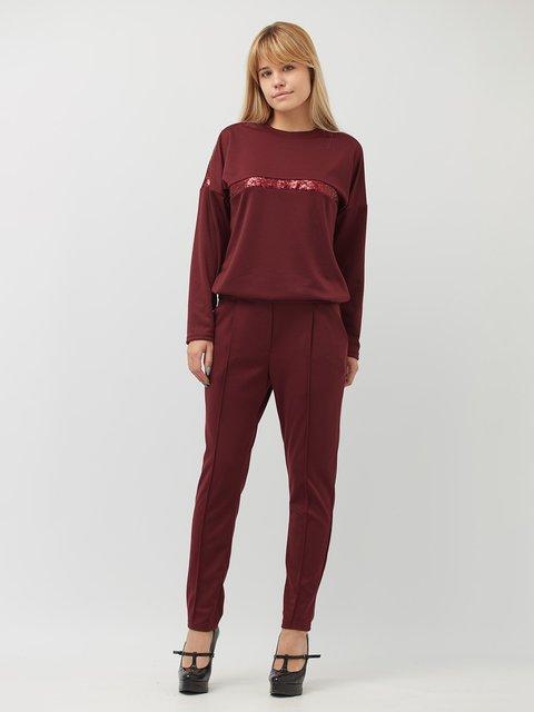 Костюм: свитшот и брюки BesTiA 3851499