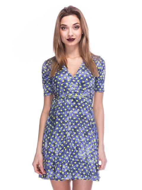Сукня кольору індиго в горох Cool&Sexy 2984009