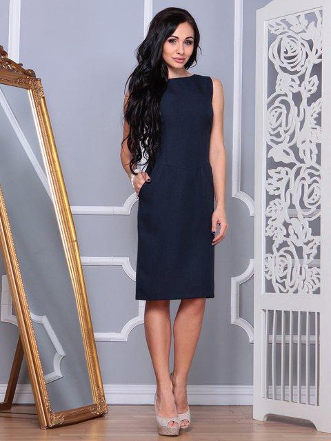 Сукня темно-синя Laura Bettini 3853760