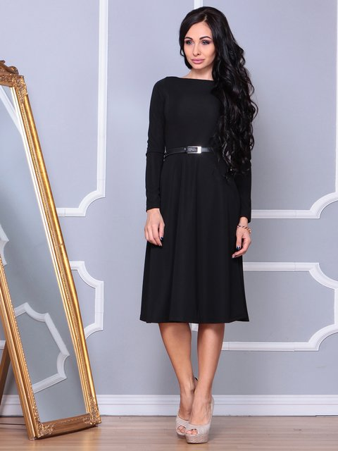 Сукня чорна Laura Bettini 3853827