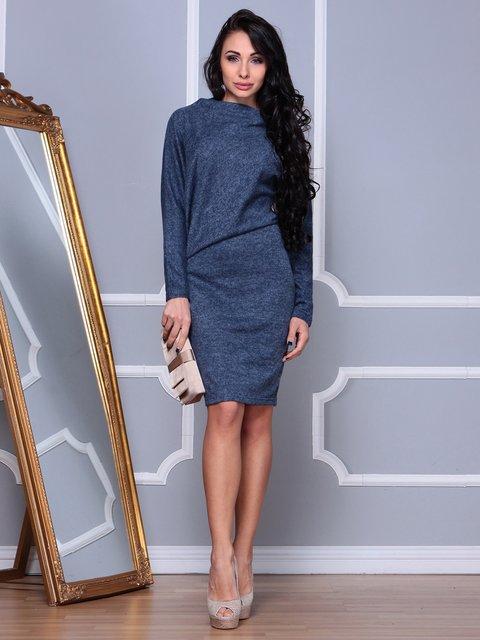 Платье темно-синее Rebecca Tatti 3853835