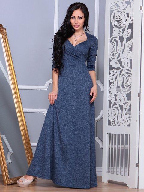 Сукня темно-синя Laura Bettini 3853838
