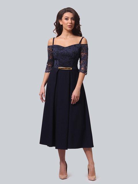 Платье темно-синее LILA KASS 3851904