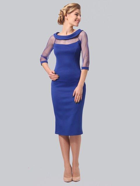 Платье цвета электрик LILA KASS 3851942