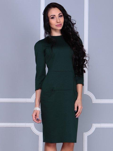 Платье изумрудного цвета Laura Bettini 3858519