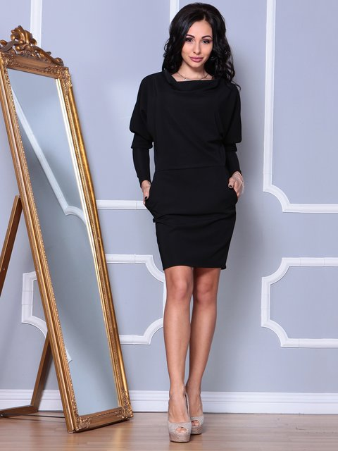 Платье черное Laura Bettini 3862494