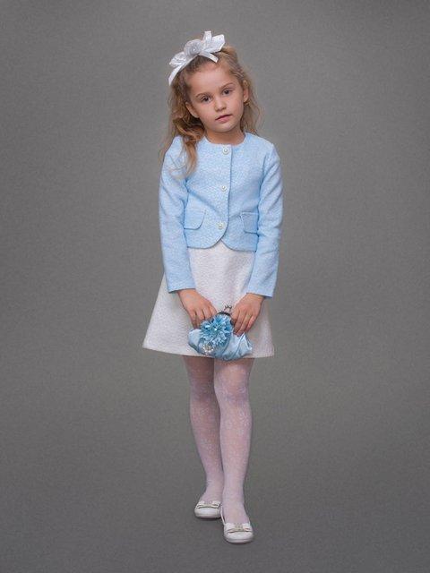 Жакет голубой Danaya шелковые дети 3852204