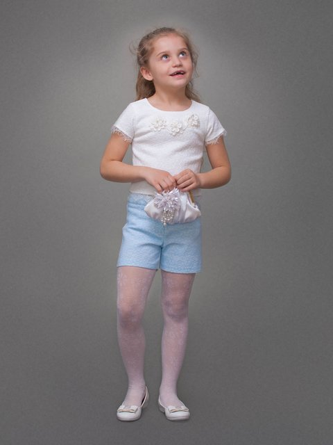 Топ белый Danaya шелковые дети 3852206