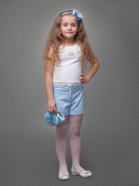 Топ білий Danaya шелковые дети 3852207