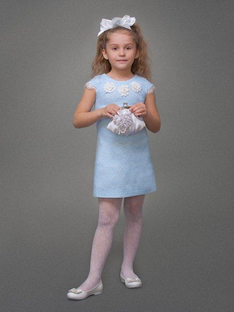Сукня блакитна Danaya шелковые дети 3852779