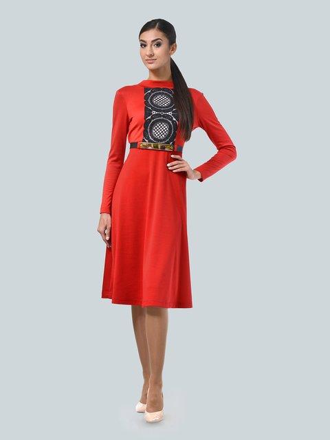 Платье красное LILA KASS 3683589