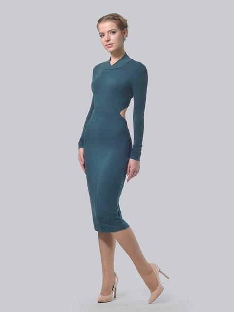 Платье темно-зеленое AGATA WEBERS 3692902