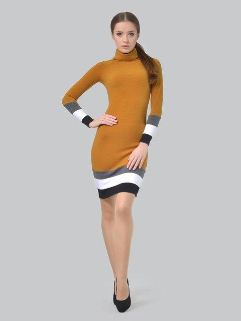 Платье горчичного цвета AGATA WEBERS 3704841