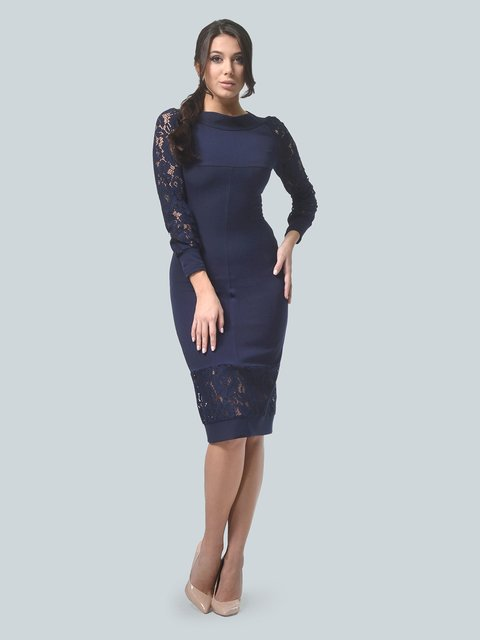 Платье темно-синее LILA KASS 3724238