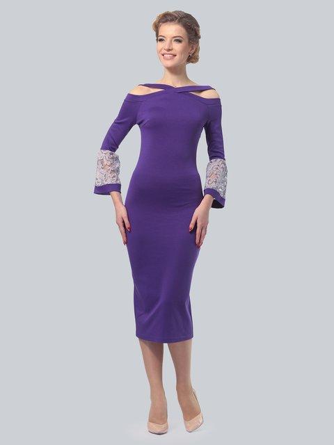Платье фиолетовое LILA KASS 3828062