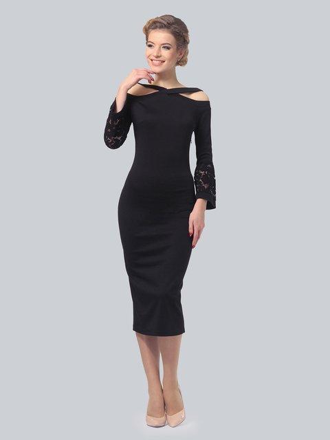 Платье черное LILA KASS 3828064