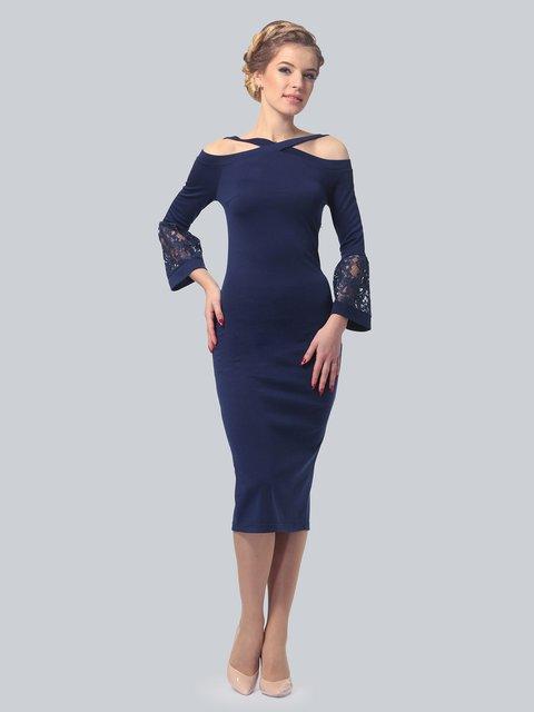 Платье темно-синее LILA KASS 3828065