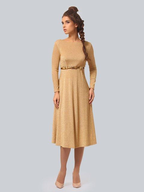 Платье золотистого цвета AGATA WEBERS 3834962