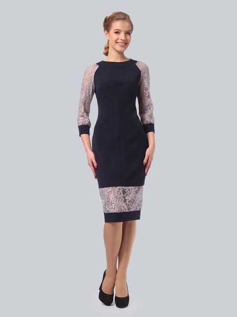 Платье темно-синее LILA KASS 3840412