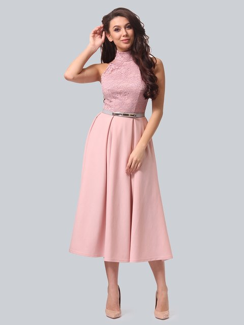 Платье розовое LILA KASS 3851918