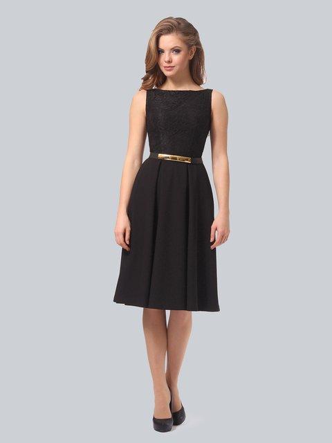 Платье черное AGATA WEBERS 3863264