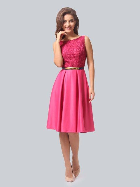 Платье цвета фуксии AGATA WEBERS 3863267