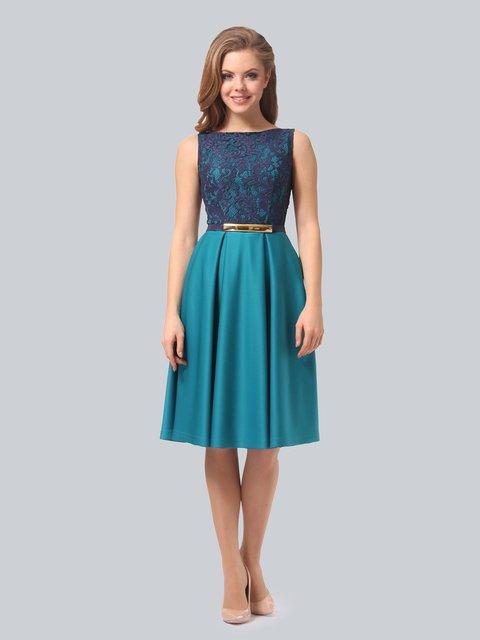 Платье бирюзовое AGATA WEBERS 3863272
