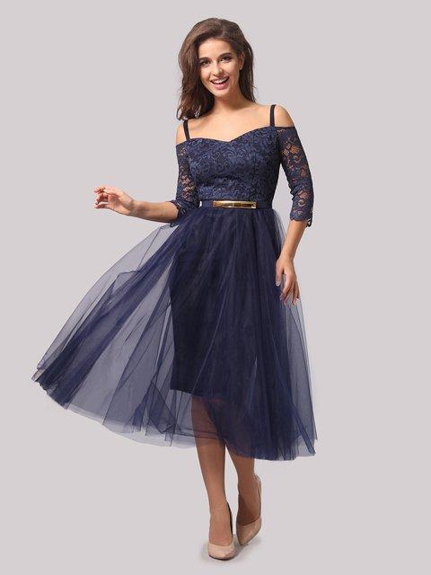 Платье темно-синее AGATA WEBERS 3863286