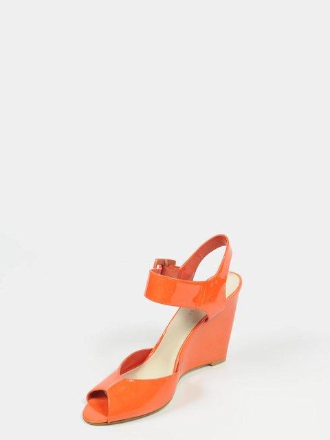 Босоніжки помаранчеві Nine West 3864005