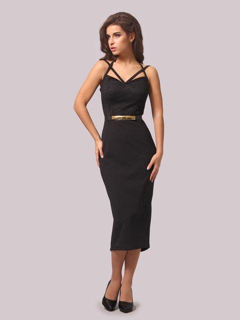 Платье черное LILA KASS 3863239
