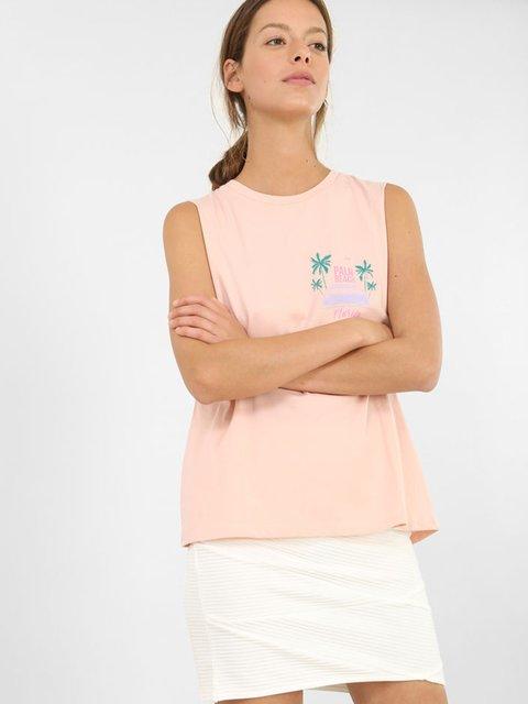 Майка розовая Pimkie 3861829