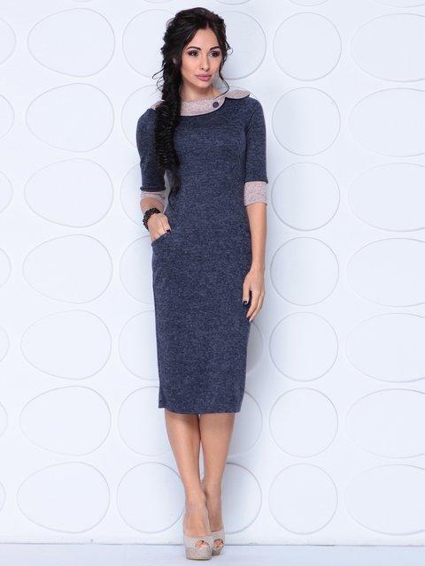 Сукня темно-синя Laura Bettini 3876119