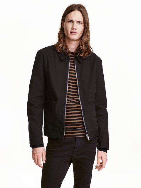 Куртка черная H&M 3733689