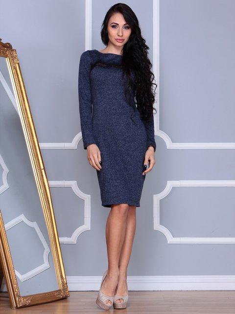 Сукня темно-синя Laura Bettini 3891724