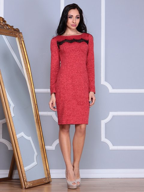 Сукня червона Laura Bettini 3891725