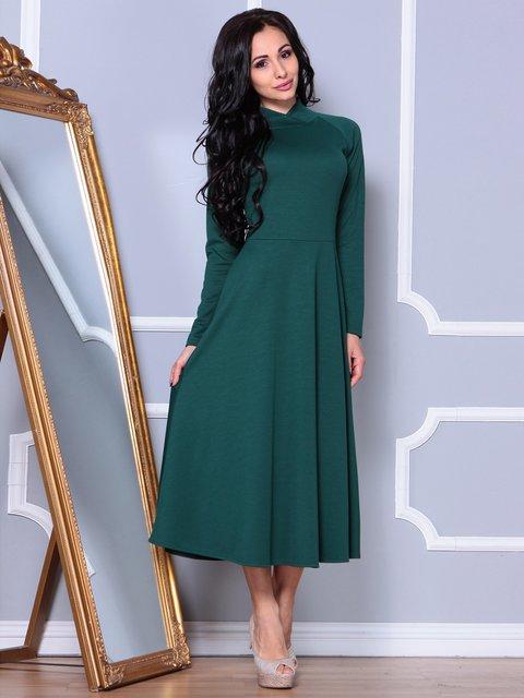 Платье изумрудного цвета Laura Bettini 3891737